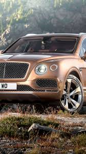 bentley bentayga render hd background bentley bentayga brown front view wallpaper