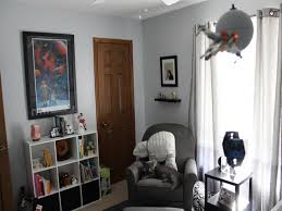 star wars inspired bedroom with picture wall frame also smart