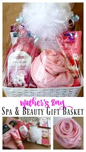 beauty gift baskets s day spa beauty gift basket budget friendly idea
