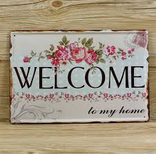 Compare Prices On Welcome Wall In Home Decor Online Shopping Buy by Compare Prices On Welcome Wall Metal Decor Online Shopping Buy