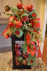 christmas tree ribbon lantern swag by kristenscreations on etsy
