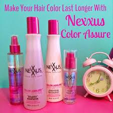 Nexxus Color Assure Pre Wash Primer - fade free hair color with nexxus color assure jennysue makeup