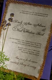 homemade wedding invitations using burlap diy rustic burlap and