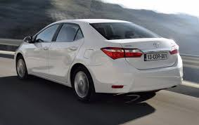 used toyota 2014 driving toyota corolla 2014 is a cool affair