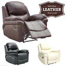 Sale Armchair Recliners Chic Leather Recliner Armchair For House Ideas Black