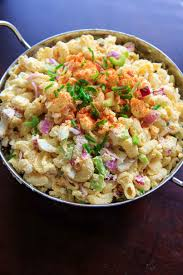 pasta salda deviled egg pasta salad macaroni light on mayo great for parties