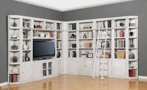 Bookcase With Glass Doors White by Wall Bookcase With Glass Door
