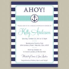 nautical bridal shower invitations marialonghi com