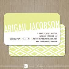 Business Cards Interior Design Ikat Event Planner Or Interior Designer Business Card Calling