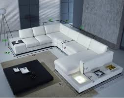 Amazon Living Room Furniture by Top Grade Real Leather Modern Corner Sofa Ylcs865 Customise To