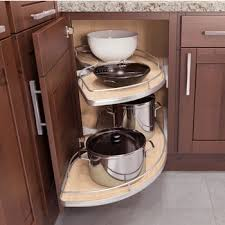 Cabinet Organizers Pull Out Corner Organizers Shop For Blind Corner Kitchen Cabinet