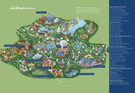 Map Of New Orleans Area by Orlando Walt Disney World Resort Map