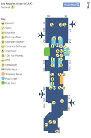 lax gate map los angeles airport lax terminal 5 map map of terminal 5 at