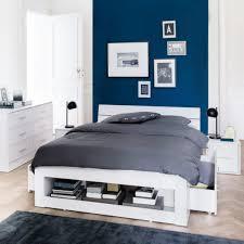 chambre marine nuit angle set deco bleu paon gris decoration peinture et canard