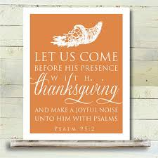 thanksgiving printable 8x10 poster bible verse psalms on etsy