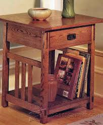 arts and crafts table for arts crafts end table plans woodarchivist