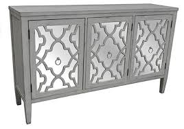 Antique White Sideboard Buffet by Marissa Antique White Pattern Mirror 3 Door Sideboard