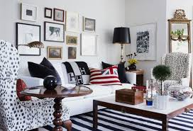 Black And White Striped Accent Chair Black And White Striped Accent Chair Militariart