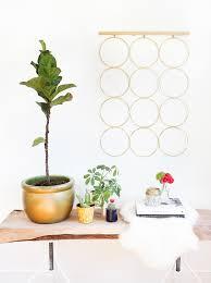 diy brass ring wall decor sugar u0026 cloth