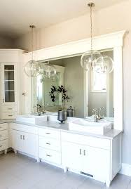 hanging bathroom light ideas pendant mirror lighting bar fixtures