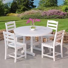 polywood la casa cafe outdoor dining set