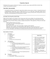 impromptu speech template document templates in word document