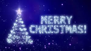 christmas background bright snow black background