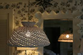 stunning basket pendant light for interior decor concept milk and