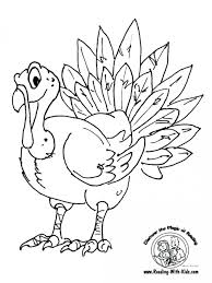 free printable thanksgiving coloring pages worksheets turkey page