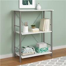 Mainstays 3 Shelf Bookcase Instructions Ameriwood Furniture Garrett 3 Shelf Bookcase White