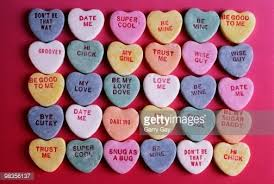 candy hearts what font is used on candy hearts quora