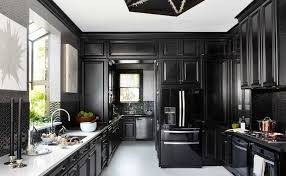 black cabinet kitchen creative inspiration 18 one color fits most - black kitchen cabinets pictures ideas tips from hgtv hgtv
