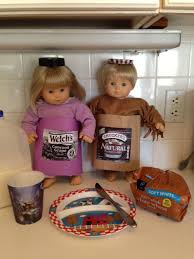 Peanut Butter And Jelly Costume Entries Of The Doll Costume Photo Contest 2015 Americangirlfan