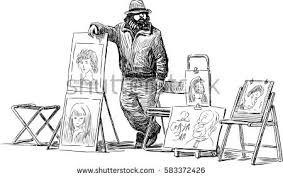 sketch street musicians stock vector 555661612 shutterstock