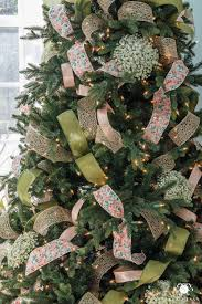 christmas tree ribbon how to decorate a christmas tree with ribbon kelley nan