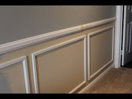 Install Wainscoting Over Drywall Wainscot Installation Tips Youtube
