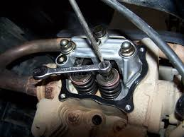 how do u adjust the valves on a g9 yamaha gas golf cart