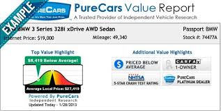 bmw used car values how we price our used cars