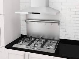 white kitchen cabinets with stainless steel backsplash ancona pbs 1230 stainless steel backsplash with shelf and hooks 30 x 30 75