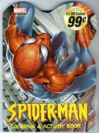 comic books u0027spider man coloring book u0027