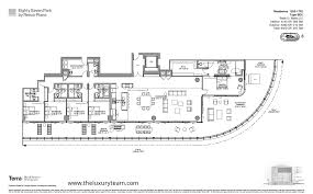 900 Biscayne Floor Plans Eighty Seven Park Miami Beach 8701 Collins Ave Miami Beach Fl