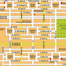 Map Georgia Usa by Map Savannah Ga City Center Georgia Usa Central Downtown Maps