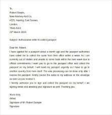 Authorization Letter Claim Passport Dfa Passport Authorization Letter 11 Free Sles Exles Format
