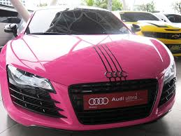 pink audi r8 the hottest cars at sole slam manila auto show pinoy guy guide