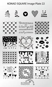 41 best konad images on pinterest nail stamping plates