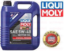 lexus es300 motor oil 5 liter liqui moly synthoil full synthetic motor oil 5w 40 ebay