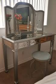 Jewelry Armoire Vanity Hayworth Silver Mirror U0026 Vanity Mirror Vanity Vanities And Bedrooms