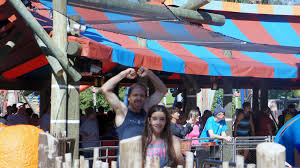 halloween horror nights busch gardens 2015 riding busch garden u0027s falcon u0027s fury for the first time