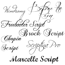 fancy writing styles alphabet in tattoo designs since they have a
