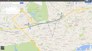 How To Plan A Route On Google Maps by A Visual Tour Of The New Google Maps Omg Chrome